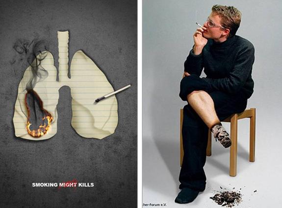 rokok membakar tubuh anda