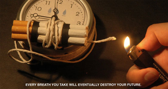 Rokok menjadi bom waktu