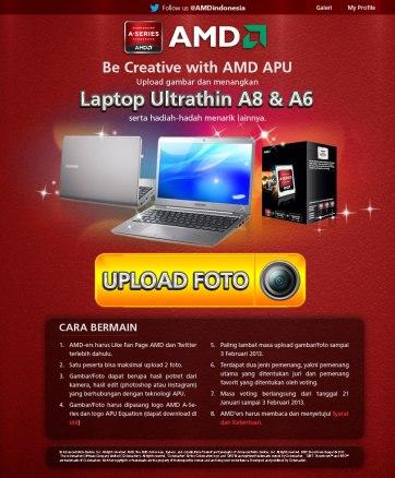 Lomba / Kontes Desain AMD Indonesia 2013
