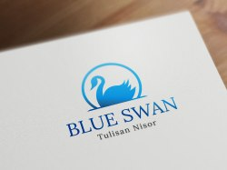 BlueSwan logo template logodesign